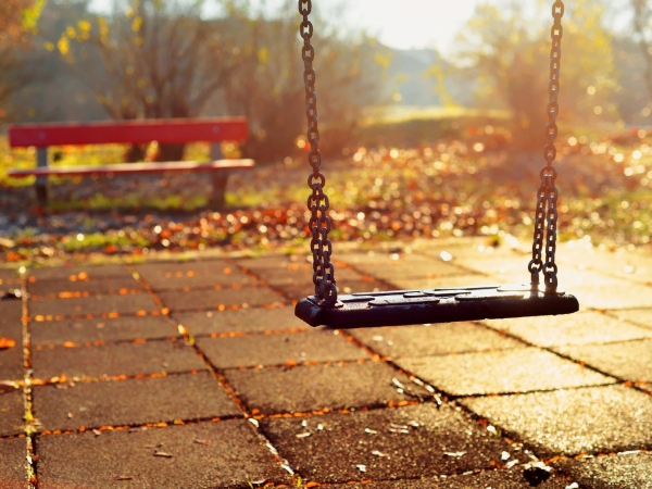 Are outdoor playgrounds a thing of the past?