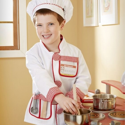 Chef Role Play Dress Up
